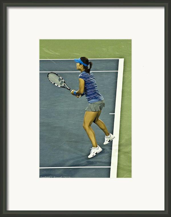 China Tennis Star Li Na Framed Print By Rexford L Powell