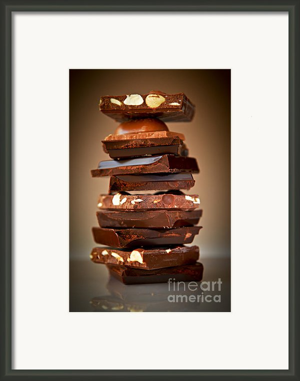 Chocolate Framed Print By Elena Elisseeva