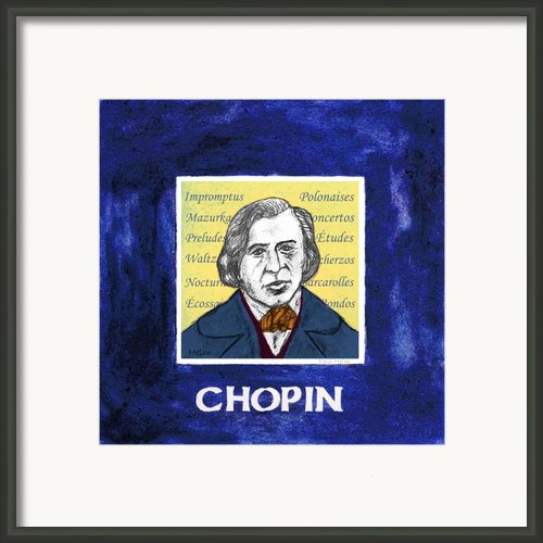 Chopin Framed Print By Paul Helm