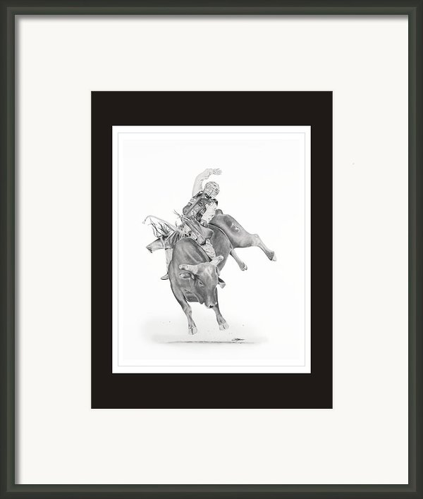 Chris Shivers  Framed Print By Don Medina