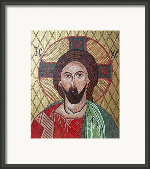 Christ Framed Print By Liza Wheeler