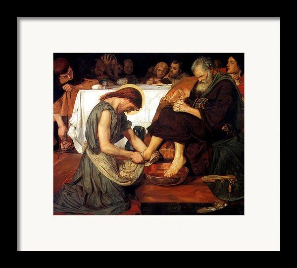 Christ Washing Peter