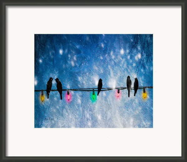 Christmas Lights Framed Print By Bob Orsillo