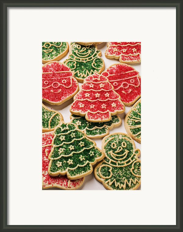Christmas Sugar Cookies Framed Print By Garry Gay