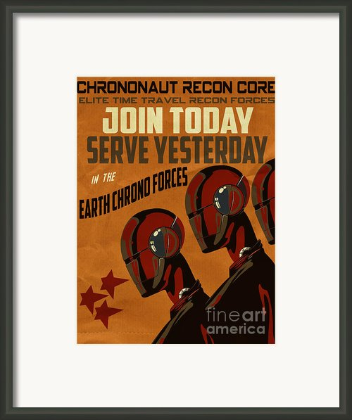 Chrononaut Core Framed Print By Cinema Photography