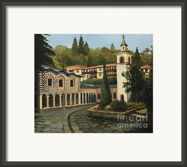 Church In Blagoevgrad Framed Print By Kiril Stanchev