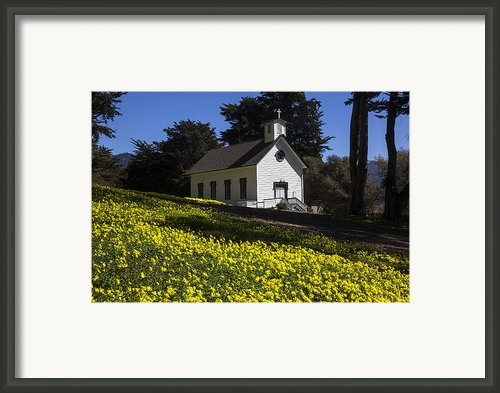 Church In The Clover Framed Print By Garry Gay
