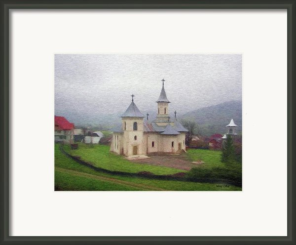 Church In The Mist Framed Print By Jeff Kolker