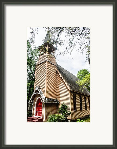 Church Of Atonement Framed Print By Steven  Taylor