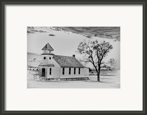 Church On The Plains Framed Print By Marty Koch