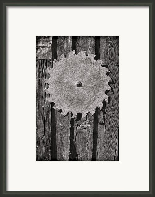 Circular Framed Print By Kelley King