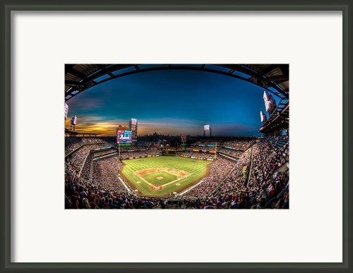 Citizens Bank Park Framed Print By Jd Ollis