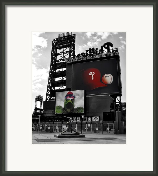 Citizens Bank Park Philadelphia Framed Print By Bill Cannon