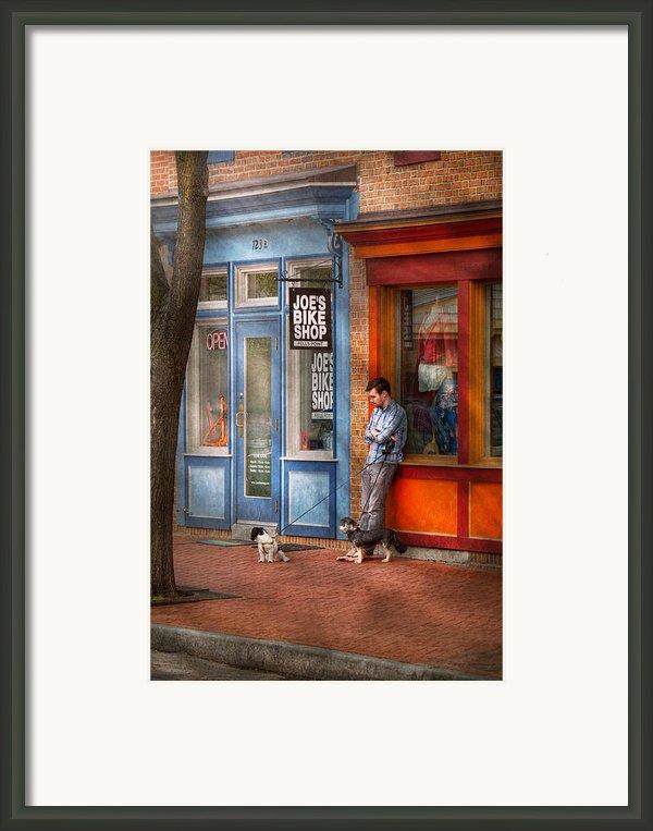 City - Baltimore Md - Waiting By Joe