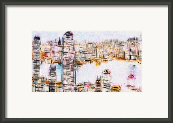 City By The Bay Framed Print By Jack Zulli