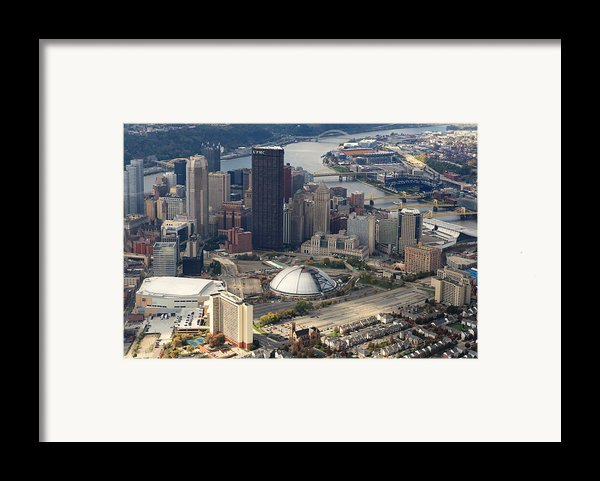 City Of Champions In Color Framed Print By Emmanuel Panagiotakis