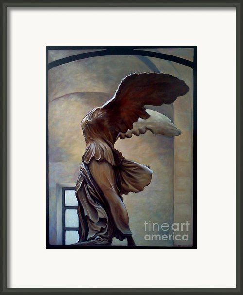 City Of Light Framed Print By Teri Tompkins