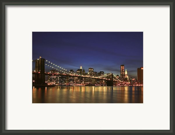 City Of Lights Framed Print By Evelina Kremsdorf