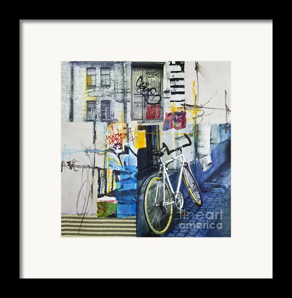 City Poetry Framed Print By Elena Nosyreva