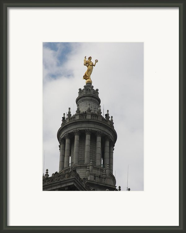 Civic Fame - Victory And Triumph Framed Print By Vadim Levin