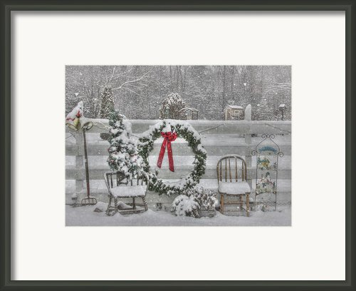 Clarks Valley Christmas 3 Framed Print By Lori Deiter
