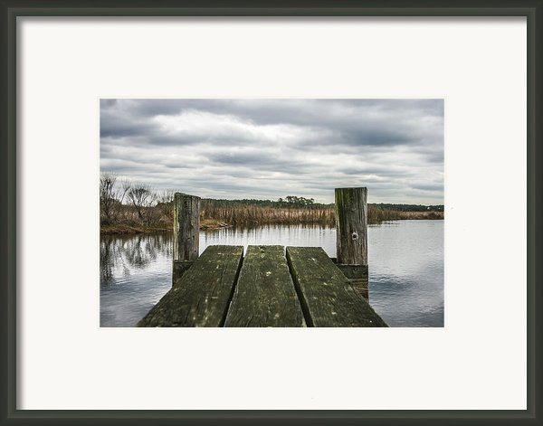 Clear View  Framed Print By Steven  Taylor