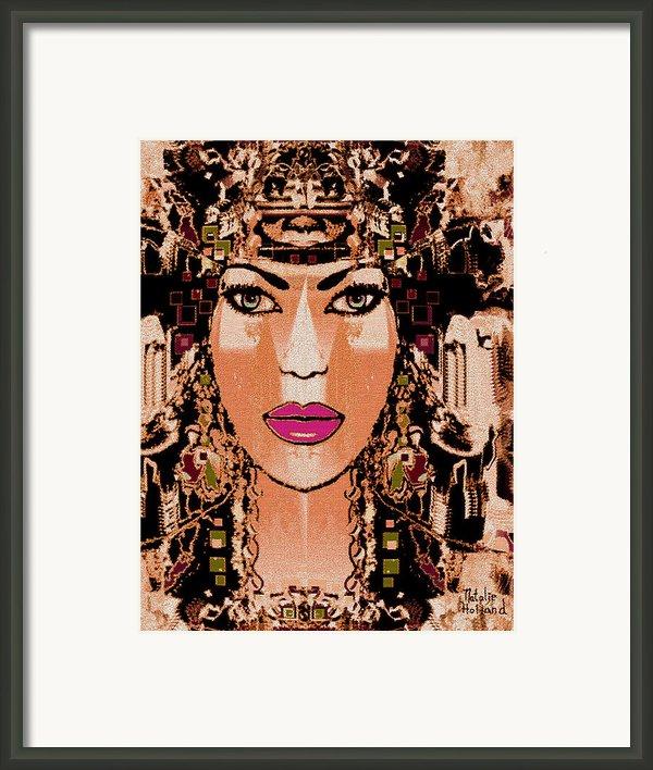 Cleopatra Framed Print By Natalie Holland