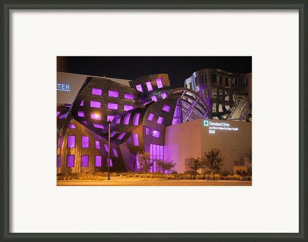 Cleveland Clinic Las Vegas #2 Framed Print By Daniel Furon