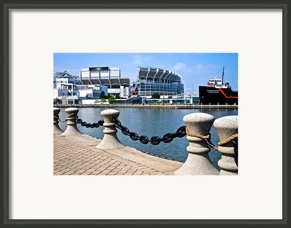 Cleveland Glory Framed Print By Frozen In Time Fine Art Photography