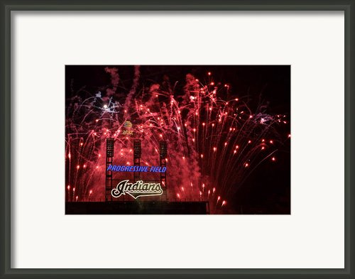 Cleveland Indians Framed Print By Robert Harmon