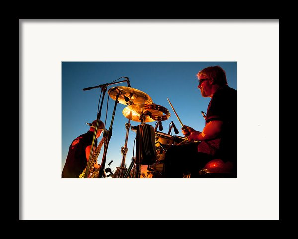 Cliff Miller And Dale Keeney - The Kingpins Framed Print By David Patterson