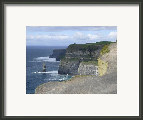Cliffs Of Moher 4 Framed Print By Mike Mcglothlen