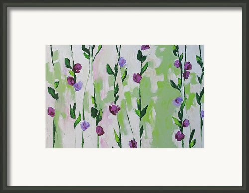Climbing Beauties Framed Print By Linda Monfort