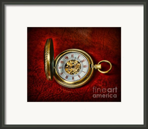 Clock - The Pocket Watch Framed Print By Paul Ward