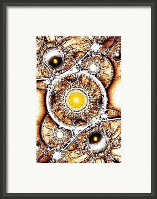 Clockwork Framed Print By Anastasiya Malakhova