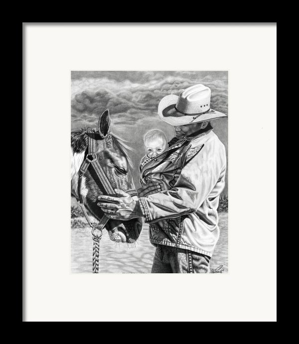 Close To The Heart Framed Print By Glen Powell