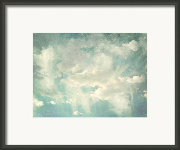 Cloud Series 1 Of 6 Framed Print By Brett Pfister
