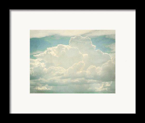 Cloud Series 2 Of 6 Framed Print By Brett Pfister