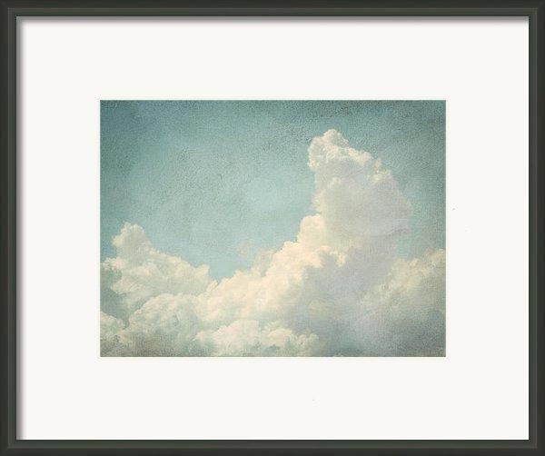 Cloud Series 4 Of 6 Framed Print By Brett Pfister