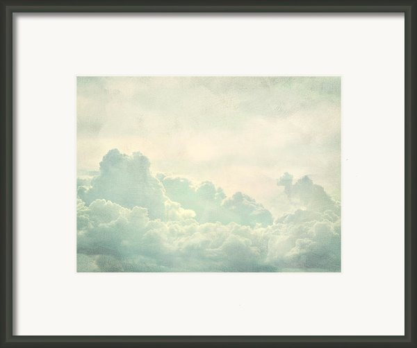 Cloud Series 5 Of 6 Framed Print By Brett Pfister