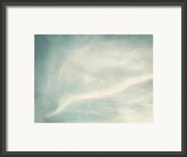 Cloud Series 6 Of 6 Framed Print By Brett Pfister