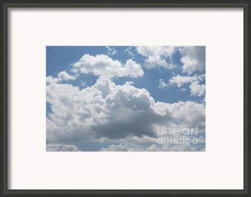 Clouds Framed Print By Kay Pickens