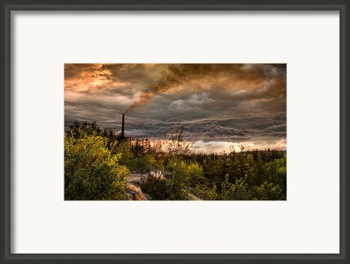 Cloudy Day Framed Print By Paul St George