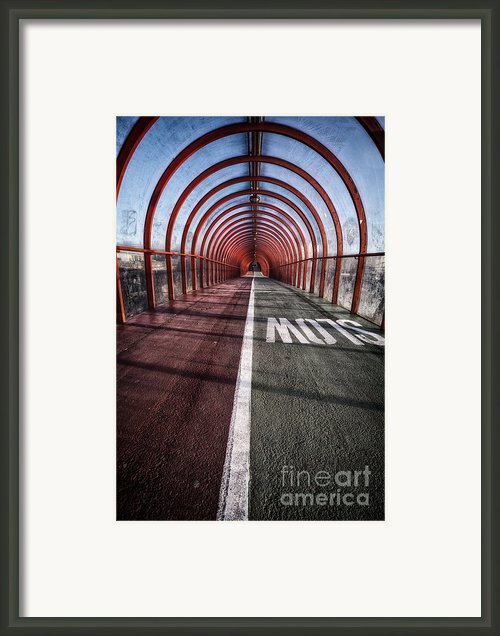 Clydeside Walkway Framed Print By John Farnan