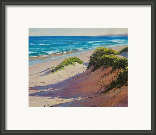 Coastal Sand Framed Print By Graham Gercken