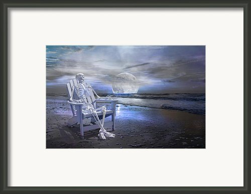 Coastal Tales  Framed Print By Betsy A Cutler East Coast Barrier Islands