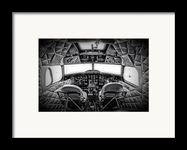 Cockpit Of A Dc3 Dakota Framed Print By Paul Fell
