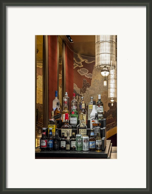 Cocktail Hour Framed Print By Susan Candelario