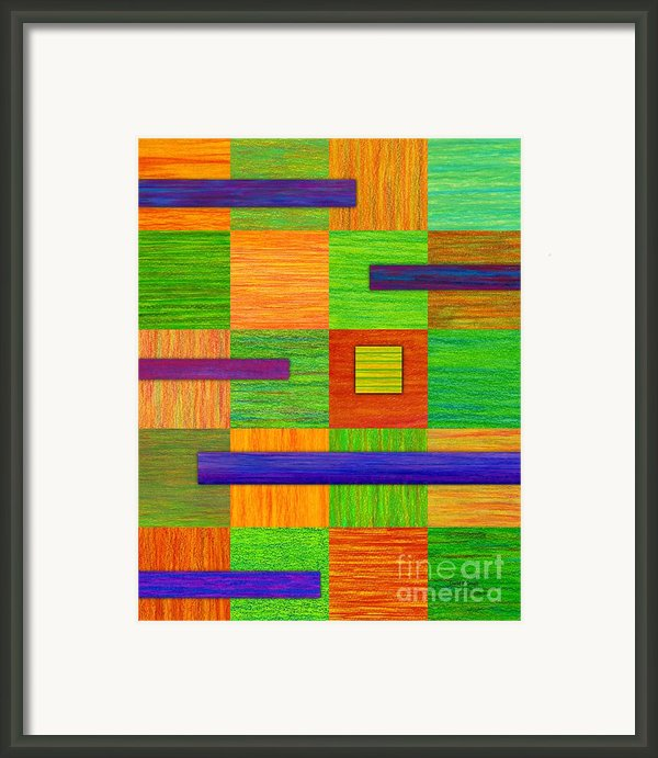 Coexist Framed Print By David K Small