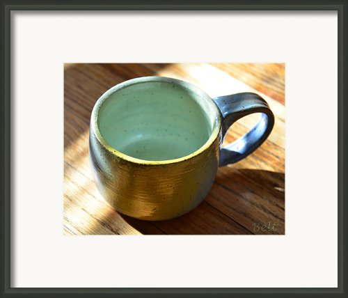 Coffee Connoisseur  Framed Print By Christine Belt